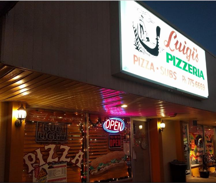 Luigi's Pizza, Naples, Florida Home of Naples Best Pizza!